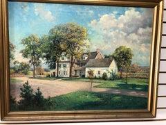 George A Newman Pennsylvania Impressionist