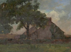 George Hamilton Constantine (1878-1967) - Early 20C Oil, Cottage by a Tree