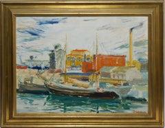 German Modernist Harbor View