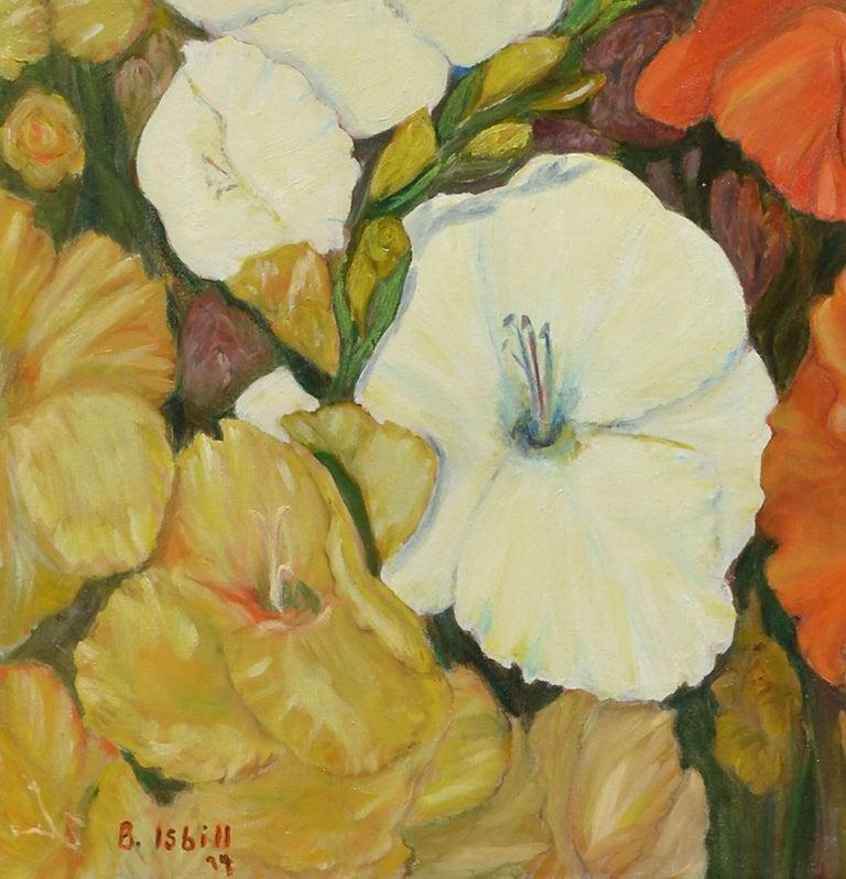Gladiolas Floral Still Life For Sale 1