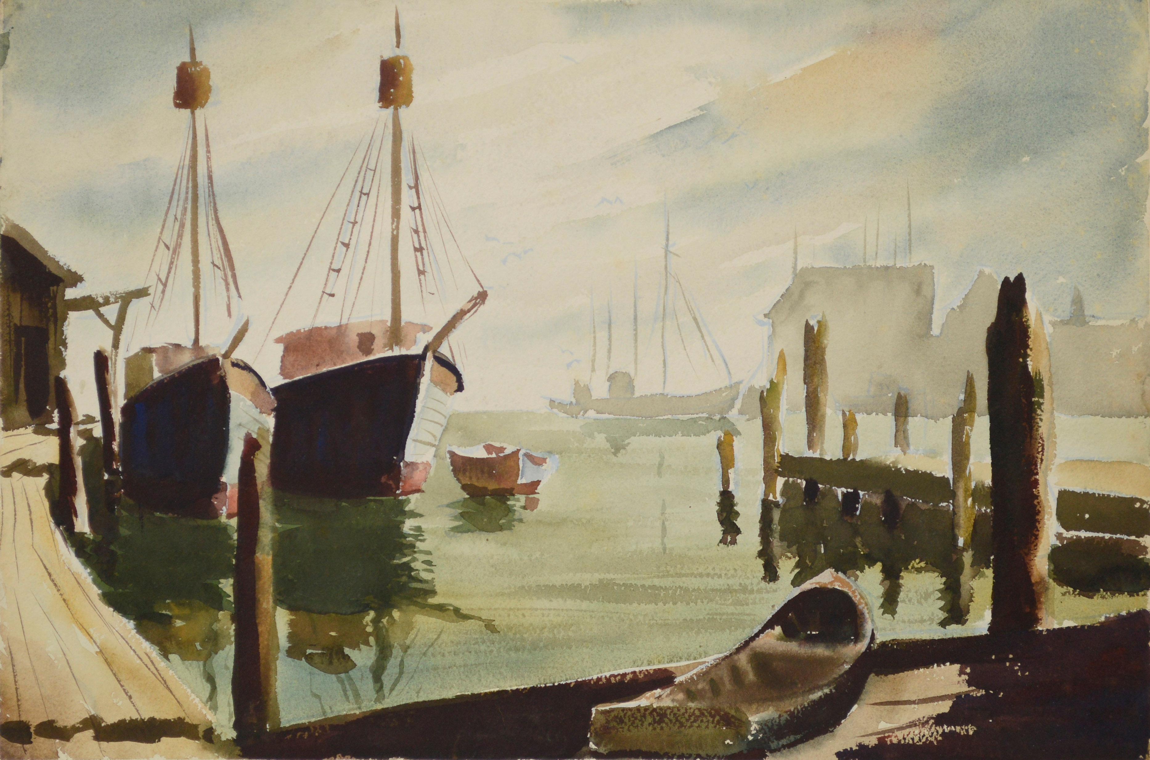 Gloucester Harbor Double Sided