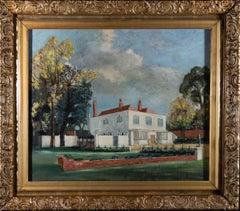 Goldsmith - Signed & Framed 1958 Oil, Manor House