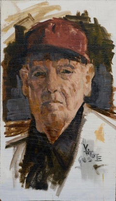 Grandfather in Baseball Cap - Portrait