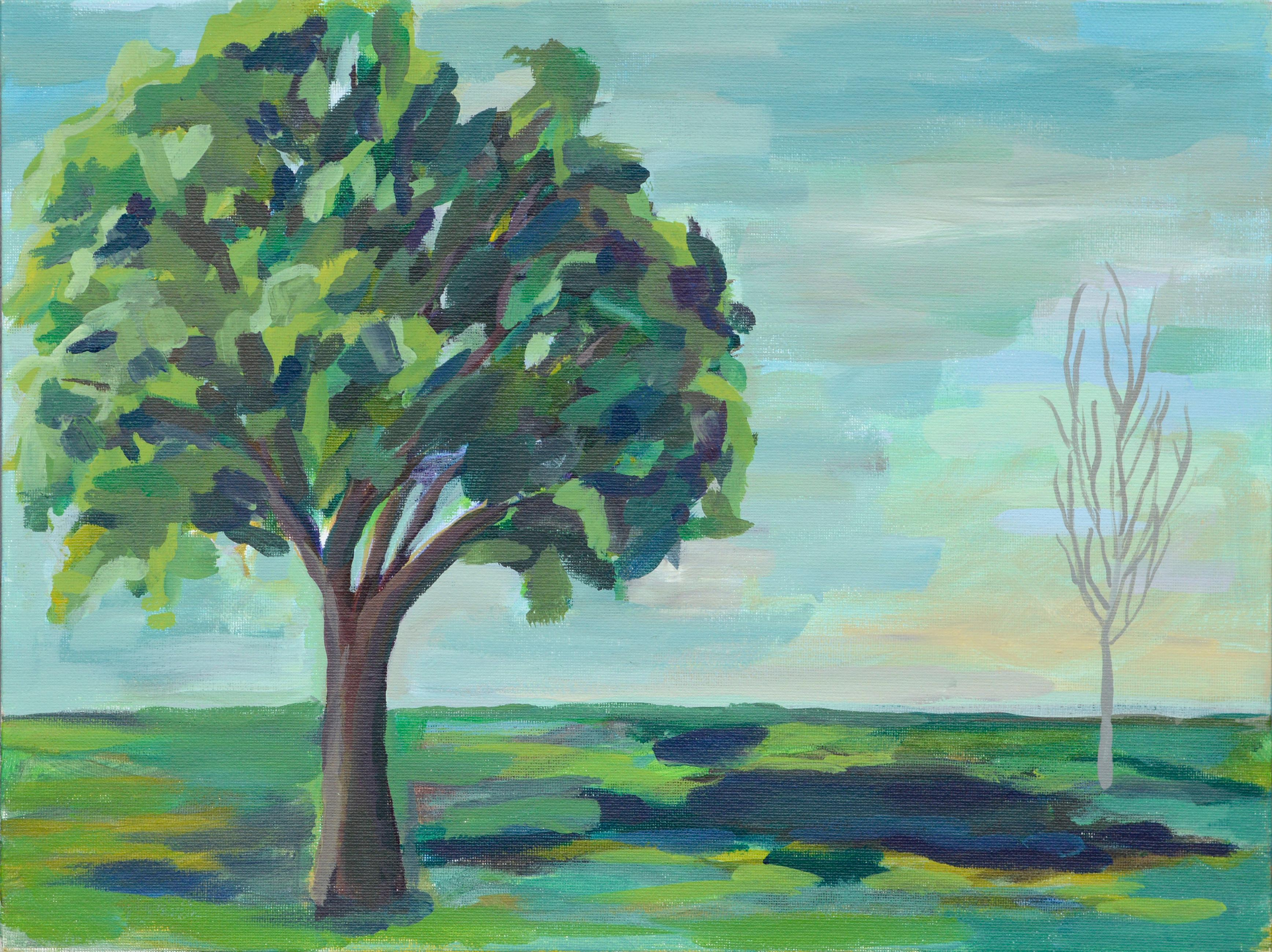 Green to the Sea, Two Trees Landscape