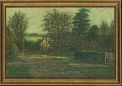 Henry E. Foster (1921-2010) - Signed & Framed 1974 Oil, Forgemill Cottage