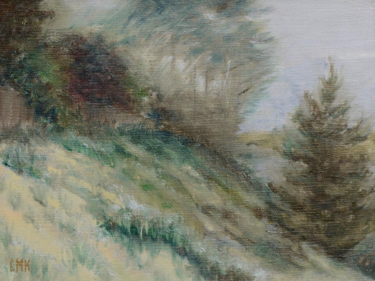 Hillside Landscape - Painting by Unknown