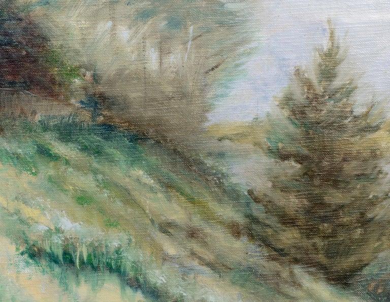 Misty landscape by an unknown artist (