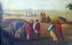 Holy Baptism, Bible Scene, Early 18th Century, Florentine School