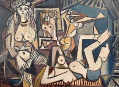 'Homage to Picasso's Les Femmes d'Alger' by Jones