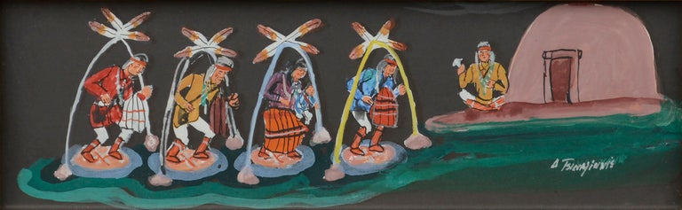Hopi Dancers  - Painting by Unknown