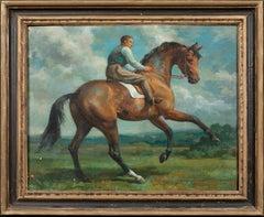 Horse & Jockey, early 20th Century