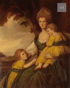 Huge Portrait Mrs Charlotte Hawkins
