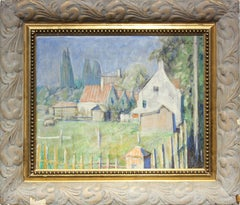 Impressionist French Countryside Landscape