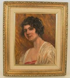 Impressionist Lady Portrait   by Ferrero