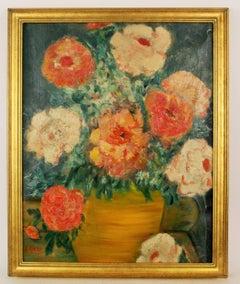 Impressionist Flowers Still Life