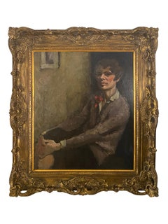 Irish School Impressionist Portrait of a Woman, circa 1910
