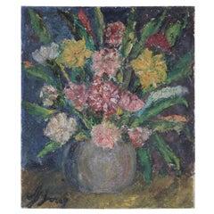 Italian Impasto Floral Still Life