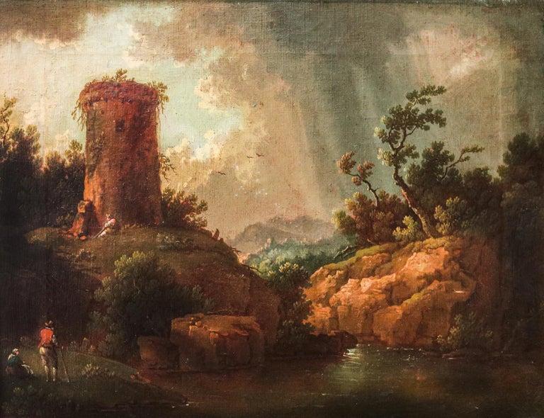 Italian Landscape Painting — Italian Painter For Sale 1