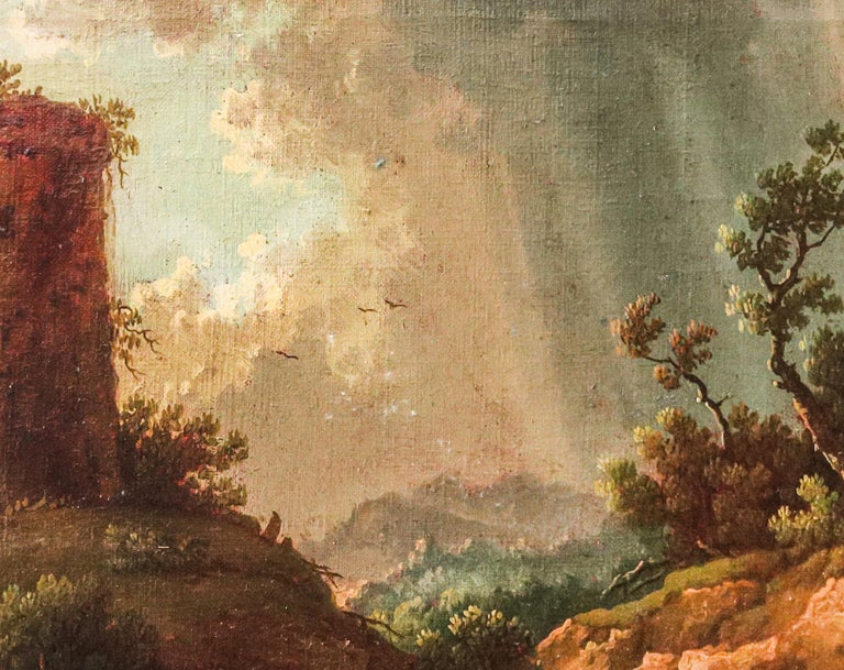Italian Landscape Painting — Italian Painter For Sale 6