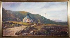 J. C. McDavid - Signed & Framed 1971 Oil, Scottish Cottage