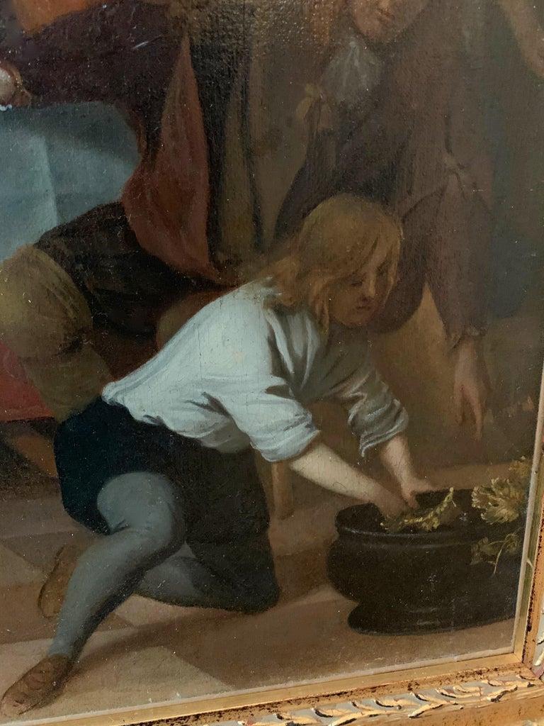 Jan Van Zyl - The Celebration - 17th century dutch elegant company Festive For Sale 6