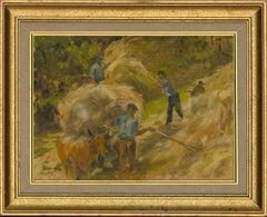 Joan Blacker - 20th Century Oil, Rural France
