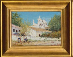 Joao California - Signed & Framed 20th Century Oil, South American View