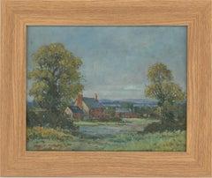 John Weston Gough (1929-2019) - Contemporary Oil, Shropshire Cottage