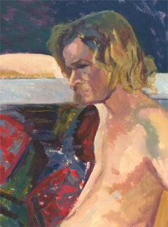 Joyce Moore - Contemporary Oil, Study of a Nude
