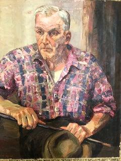 "Ken Gore Portrait  ""The Old Fisherman"""