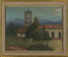 Ken Symonds (1927-2010) - Fine 1987 Oil, Les Arcs, Provence
