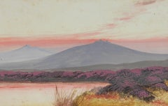 Landscape Painting of Dartmoor British early 20th century