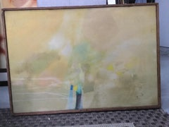 large pastel abstract