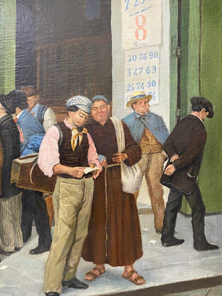Late 19th Century Italian School Oil Painting For Sale 2