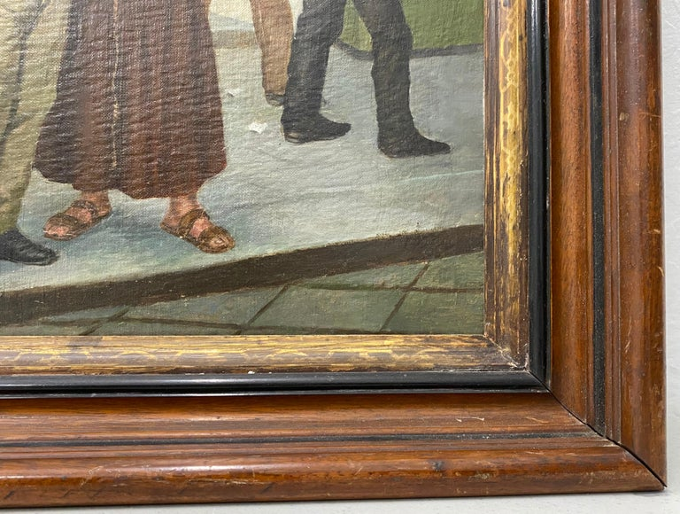 Late 19th Century Italian School Oil Painting For Sale 7
