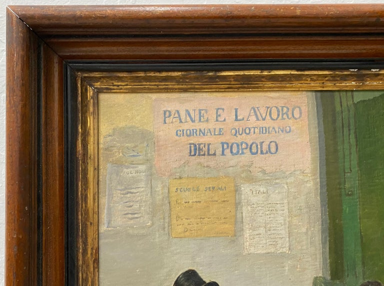 Late 19th Century Italian School Oil Painting For Sale 8