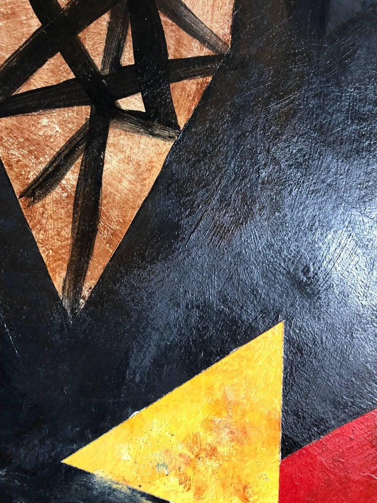 Latin American Abstract Surrealist Modern Oil Painting For Sale 1