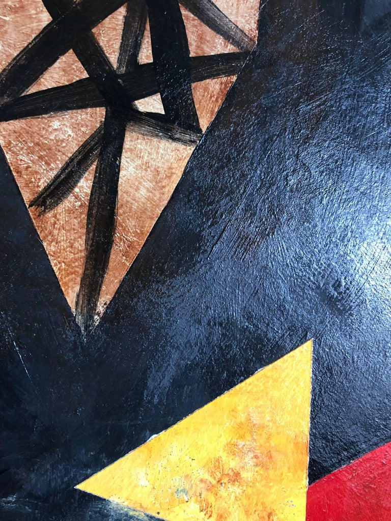 Latin American Abstract Surrealist Modern Oil Painting For Sale 2