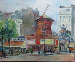 "Le ""Moulin Rouge"" In Paris"