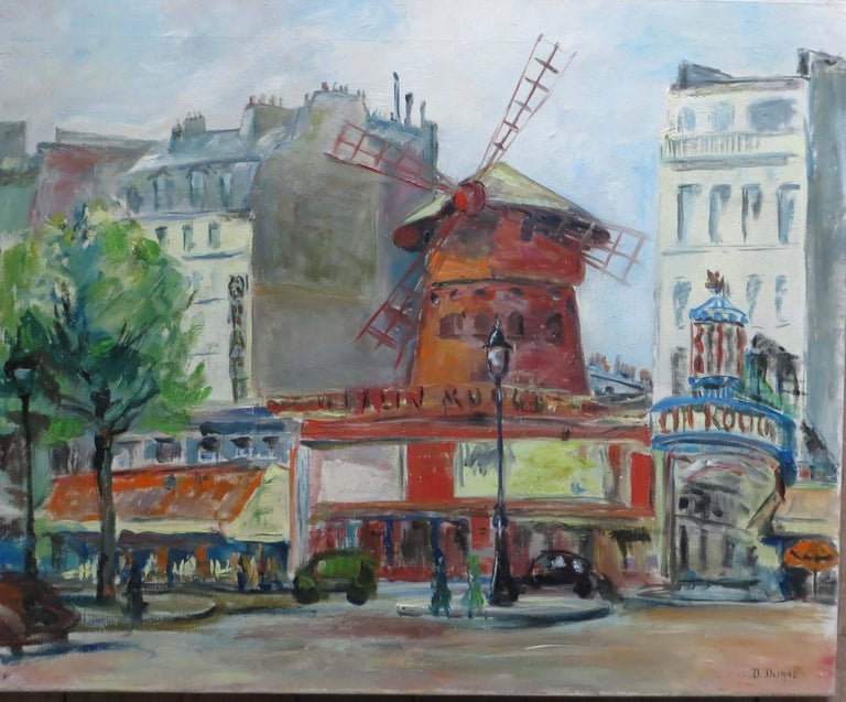 """Le """"Moulin Rouge"""" In Paris"""