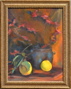 Lemon and Orchid Still Life - Maier