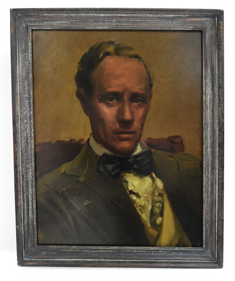 Leslie Howard Ashley, Circa 1939, Unknown Artist - Realist Painting by Unknown