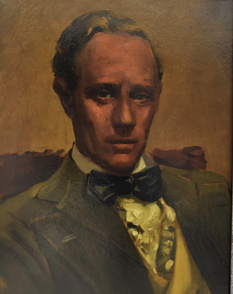 Leslie Howard Ashley, Circa 1939, Unknown Artist - Painting by Unknown
