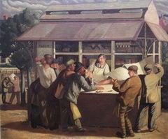London Costmongers, Urban 20th Century English Oil
