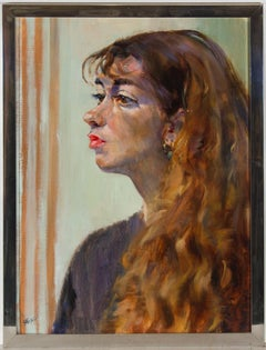 Marie-Therese Ralli (1916-2010) - Signed 1991 Oil, La Sicilienne