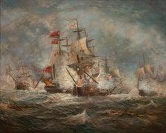 Maritime Battle Scene