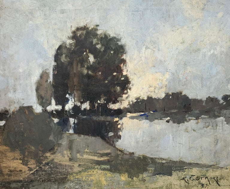 Unknown Landscape Painting - Maryland Landscape