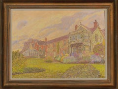 Maurice Sheppard PRWS NEAC (b.1947) - 20th Century Oil, Country Manor House