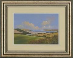 Michael J. Poole - Framed Contemporary Acrylic, Camel Estuary, Cornish Coast