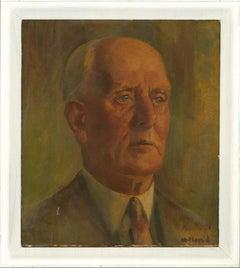 Mid 20th Century Oil - Portrait of a Gentleman